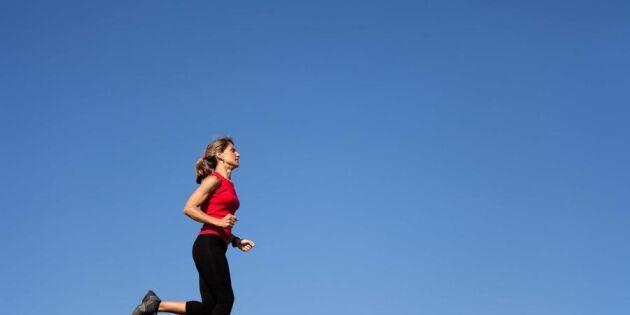 Träna i en halvtimme – lev fem år längre