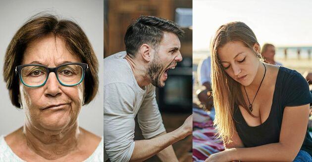 Surpuppa, gaphals eller offer – hur uttrycker du din ilska?