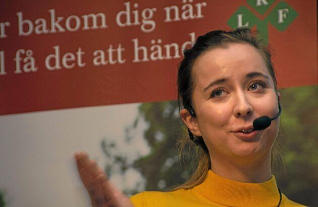 Natali Isaksson är politiskt sakkunnig hos EU-parlamentarikern Fredrik Federley (C).
