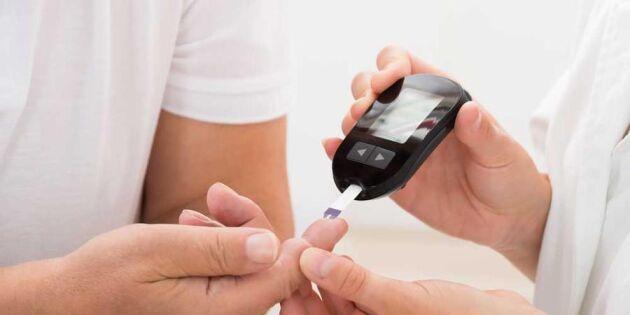 Diabeteslarm: Var tionde svensk har förhöjt blodsocker – utan att veta om det