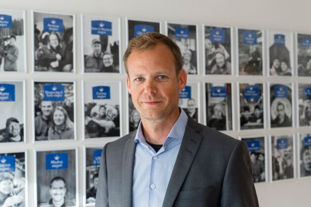 Anders Fredriksson, vd Norrmejerier.