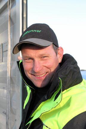Jörgen Larsson är nöjd. Anläggningens driftsdata jämförs med andra anläggningar i Biolectrics nätverk och i december var det deras bästa anläggning i Europa med en verkningsgrad på över 90 procent.