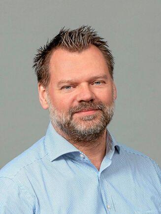 Per Andersson, varumärkesansvarig på Arla. Mjölkbönder har ända sedan start varit tveksamma till Arlas satsning i Kina.