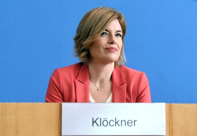 Tysklands jordbruksminister Julia Klöckner (CDU). Arkivbild.
