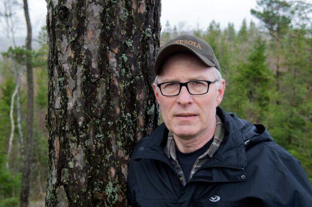 Torsten Torstensson, LRF Västergötland, är för den gamla policyn som togs fram 2017.