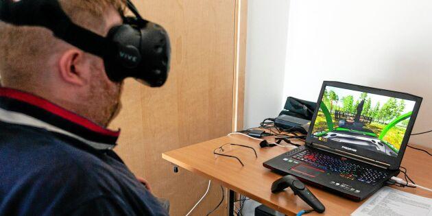 Skogsjättar satsar på simulatorer
