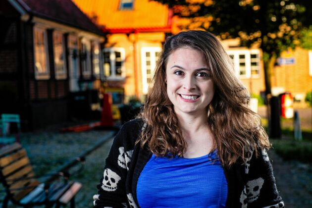 """Brittany Zikman, deltagare i """"Allt för Sverige"""" 2019."""