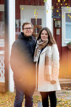 Fredrik och Victoria känner framtidstro.