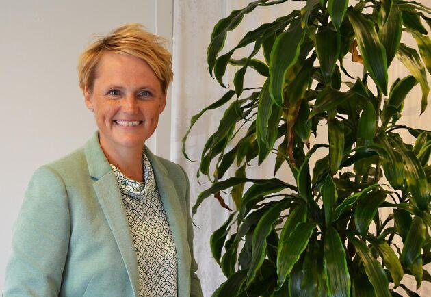 Anna Karin Hatt, ny VD för LRF, tänker resa runt och träffa medlemsföretag och förtroendevalda för att lära känna organisationen.