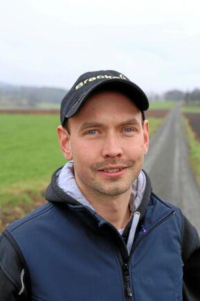 Peter Andersson från Idala är bland annat mjölkbonde.
