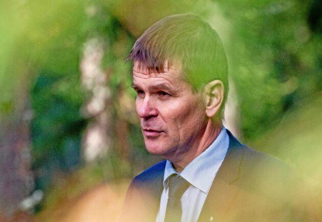 Herman Sundqvist, generaldirektör för Skogsstyrelsen.