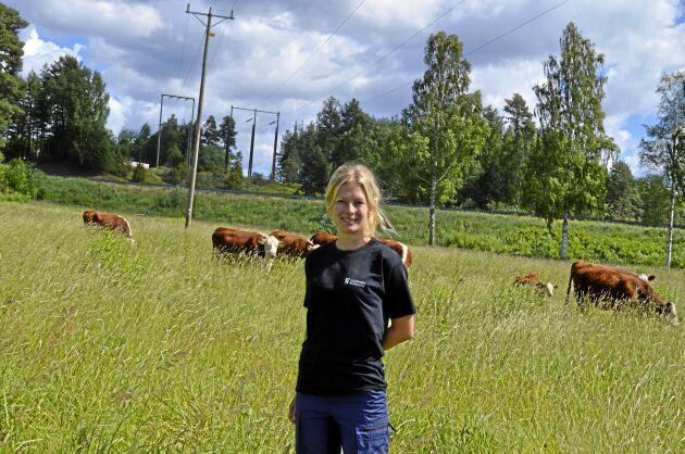 Ann Eriksson, enhetschef på kommunens betesdjursverksamhet.