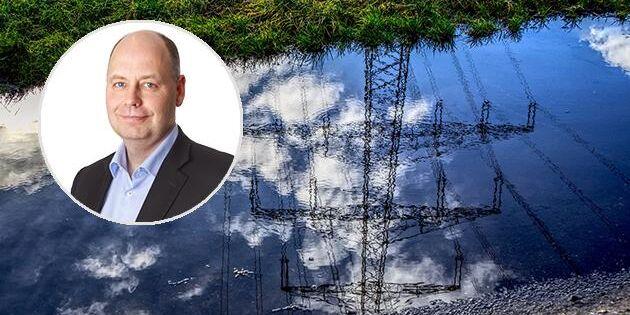 Hållbar utveckling får inte bromsas av en osäker elmarknad