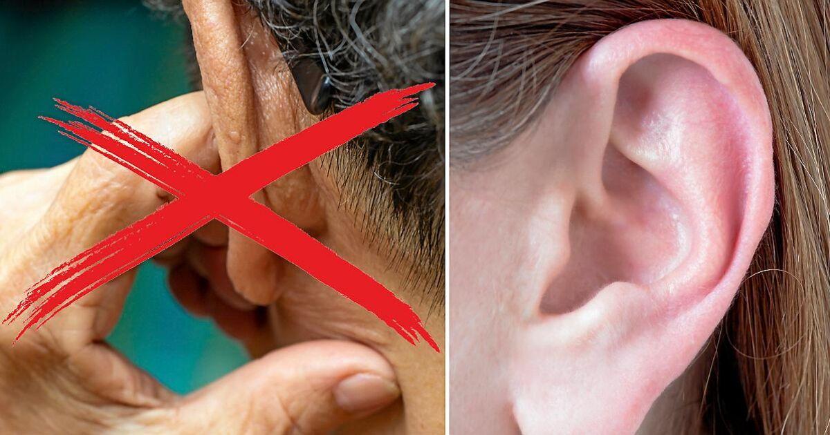 vaxpropp eller öroninflammation