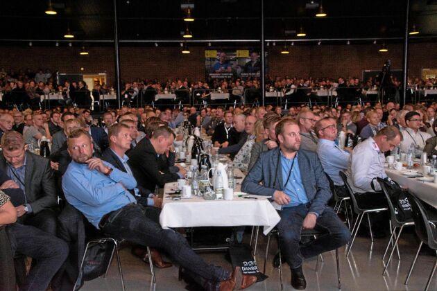 Det var inget rekorddeltagande i år, men det var ändå över 2 000 personer på plats under den danska griskongressen.