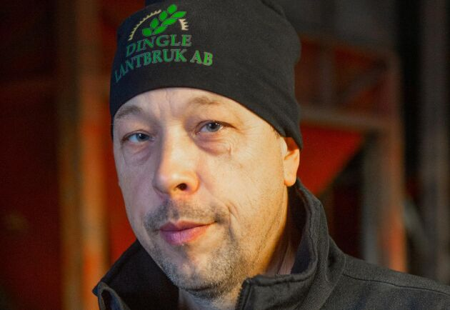 Fredrik Andersson jobbade tidigare i 20 år som instruktör på Naturbruksgymnasiet i Dingle.