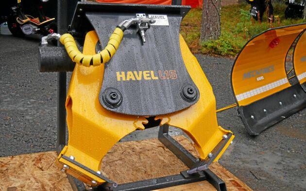 Havel N16 är en stubbklipp för grävare. Klippen väger 160 kilo.