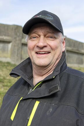 Håkan Wahlstedt på Hidinge Gård.