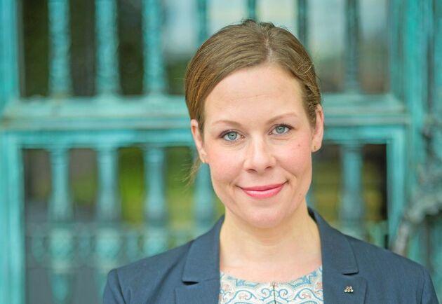 Maria Malmer Stenergard är Moderaternas miljö- och jordbrukspolitiska talesperson.