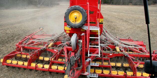 Rätt odlingsteknik sparar var tredje liter