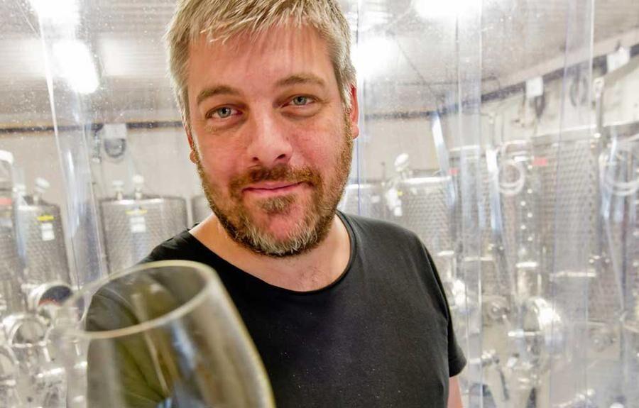 Andreas Sundgren, VD och cidermakare på Brännland Iscider i Västerbotten.