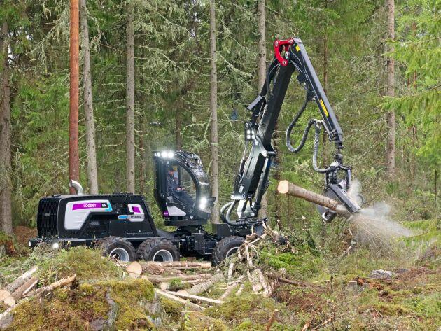 Logset har nu tagit hybriddriften vidare till sin allround-skördare 8H GTE.
