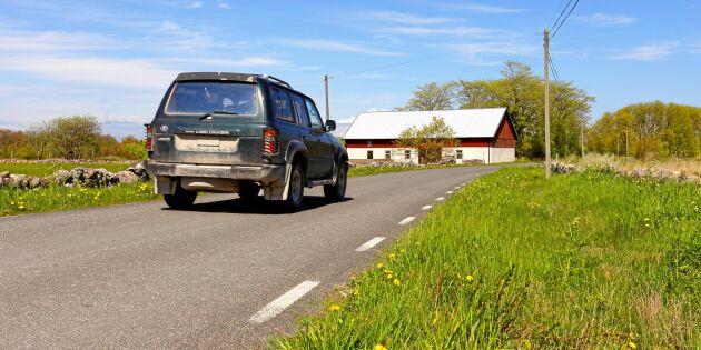 """Debatt: """"Stötta landsbygden – modernisera avdraget för bilresor till jobbet!"""""""