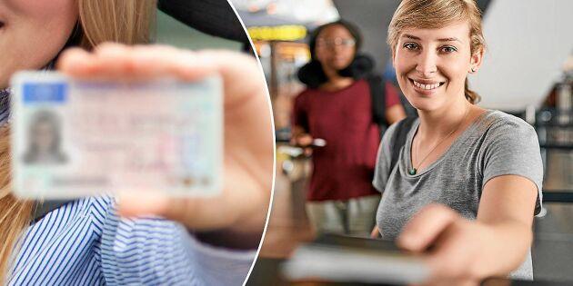 Körkortet kan bli ogiltigt som id-handling – förfalskas ofta