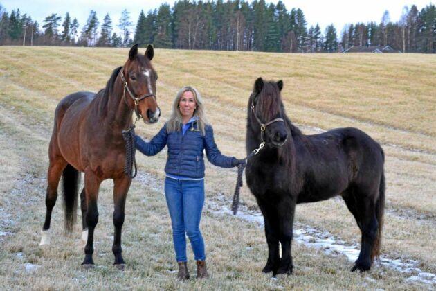 Ulrika Backan är utbildningsledare på Hästsportens Folkhögskola och ansvarig för omskolningskursen.