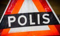 Stora trafikstörningar efter olycka med timmerbil