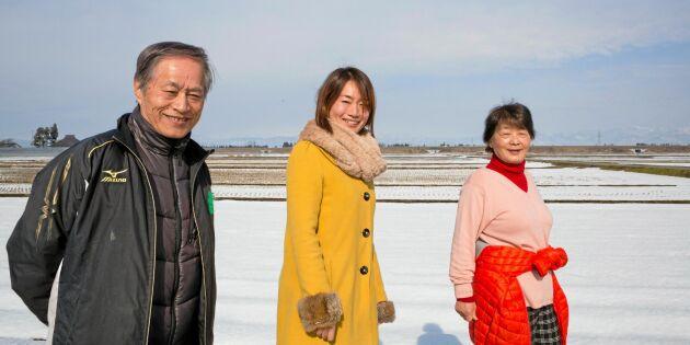 Sju svåra år för bönderna i Fukushima