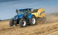 New Holland stiger bland traktorerna