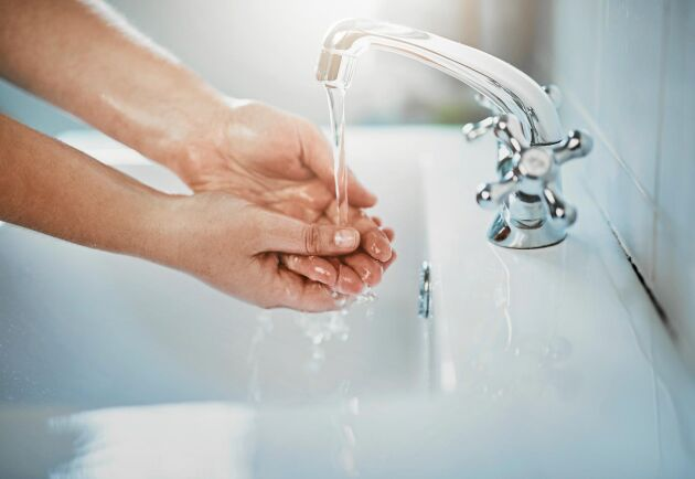 Tvätta alltid dina händer innan du lagar mat.