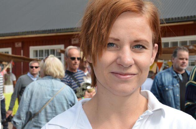 Malin Jakobsson gläds åt framgången med Dalsspira Mejeri där ett 10-tal gårdar står i kö för att få börja leverera.