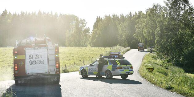 Polisen misstänker fler anlagda skogsbränder