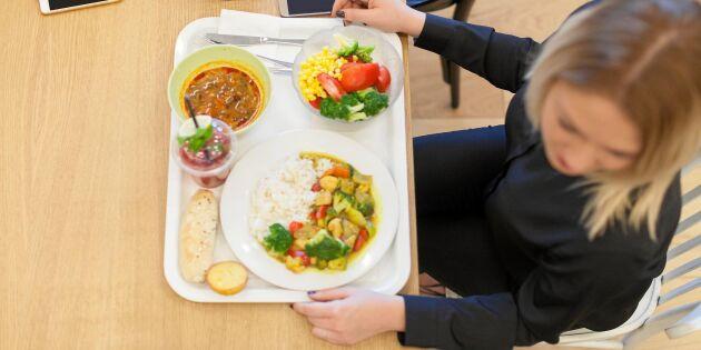 Ska du äta lunch ute i dag? Här är frågan alla uppmanas ställa!