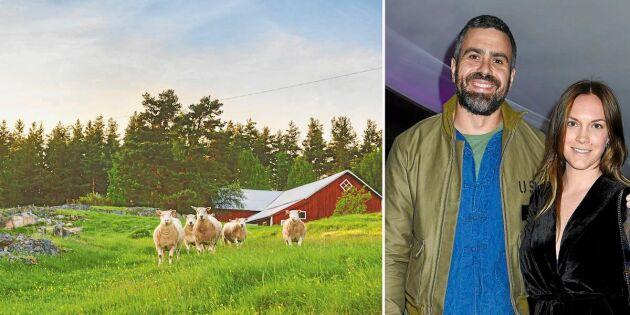 Tv-paret förverkligar lantbruksdrömmen – här är planerna för nya gården
