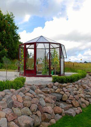 Willab Gardens Rondo ser ut som en liten karusell.