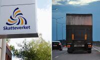 Åkeri går i konkurs efter att betalat svarta löner
