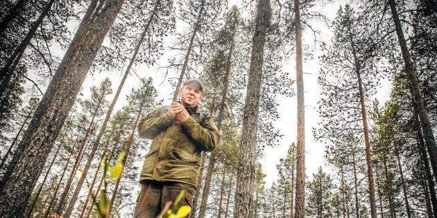Hans skog tvångsinlöstes