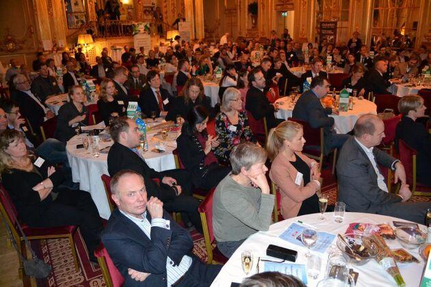 För tredje året i rad hölls Ekogalan på Grand Hotel i Stockholm. I år tog sig 230 deltagare till arrangemanget.