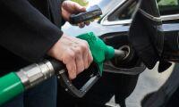 Mer förnybart i tanken pausar höjd bensinskatt