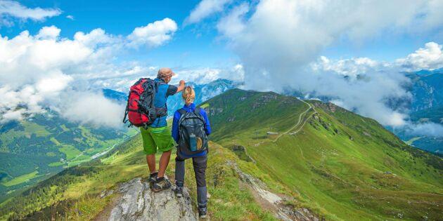 Följ med Land på vandringsresa till Bad Gastein – träning och mat i fokus!