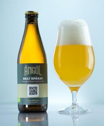 """Ölet """"Helt spårat"""" från Ängöl tillverkas bara i 6000 flaskor i en första omgång och säljs via Systembolaget."""