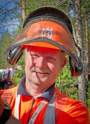 Tomas Gullberg, verksamhetsledare på Säker skog.