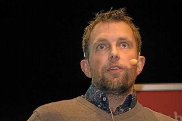 Johan Hillström, ordförande i Västsvensk Vattenkraftsförening.