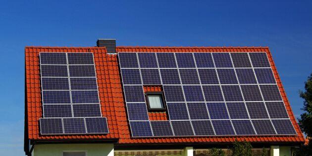 Fler lantbrukare vill investera i solceller