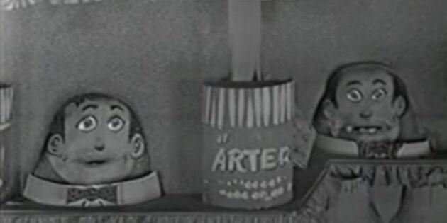 Spana in Humle och Dumle - det barnen älskade på 50-talet