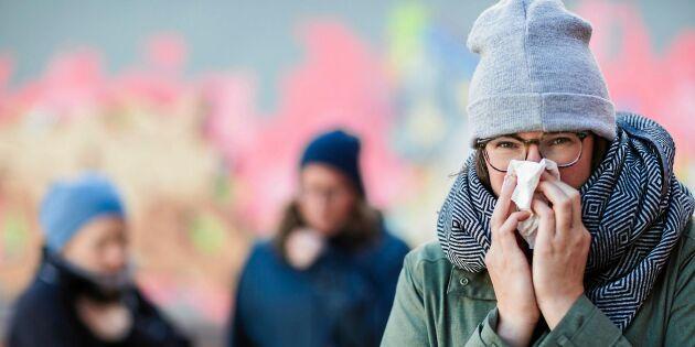 Jo – det kalla vädret kan faktiskt göra dig förkyld!