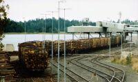 Skogsindustrin befarar mindre järnvägstransport